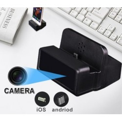 Chargeur caméra espion Wifi Full HD pour mobile iPhone